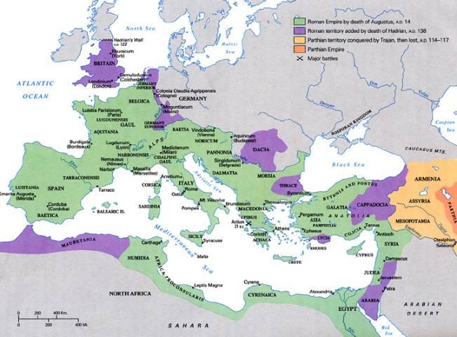 Römisches Reich Karte.Limes Lat